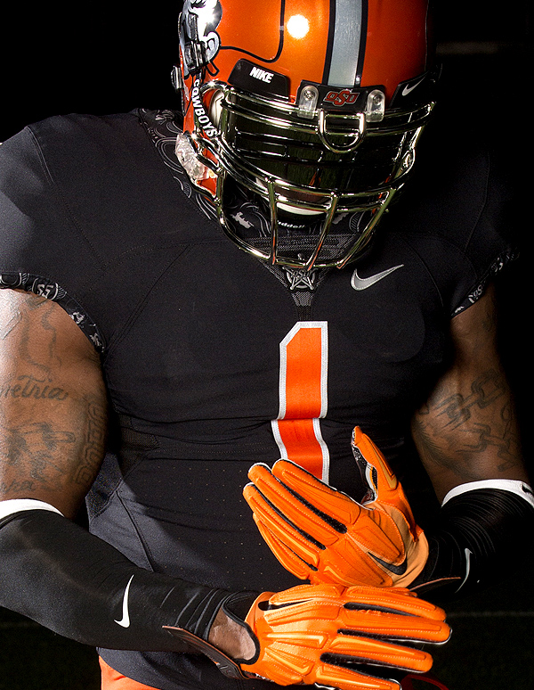 Oklahoma State Football Uniform Evolution